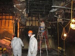 Disaster Restoration Crew Members