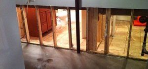 Wall Restoration Due To Mold Growth