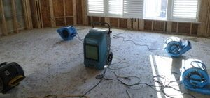 Using Air Movers To Cleanup Water Damage