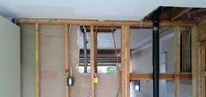 Water and Mold Damage Restoration Of Drywall